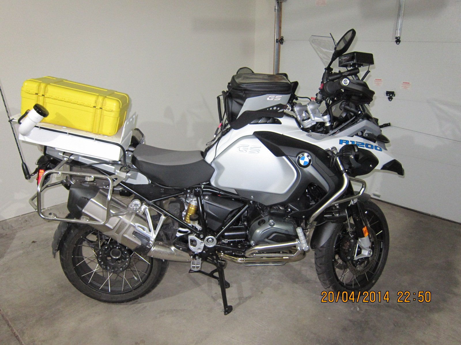 Bmw Gs Gsa Tail Mounted